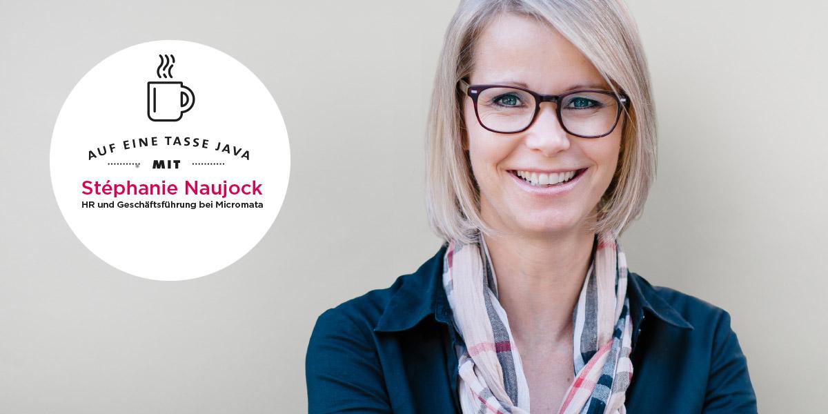 Stéphanie Naujock. Interview zu Familienfreundlichkeit in Unternehmen
