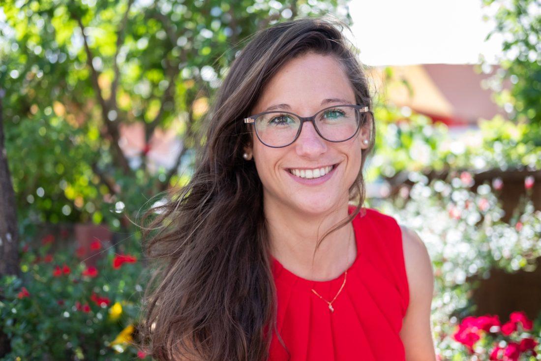 Tanja Kunz. Bergführerin für Frauen auf dem Weg zum Gipfel ihrer Karriere.