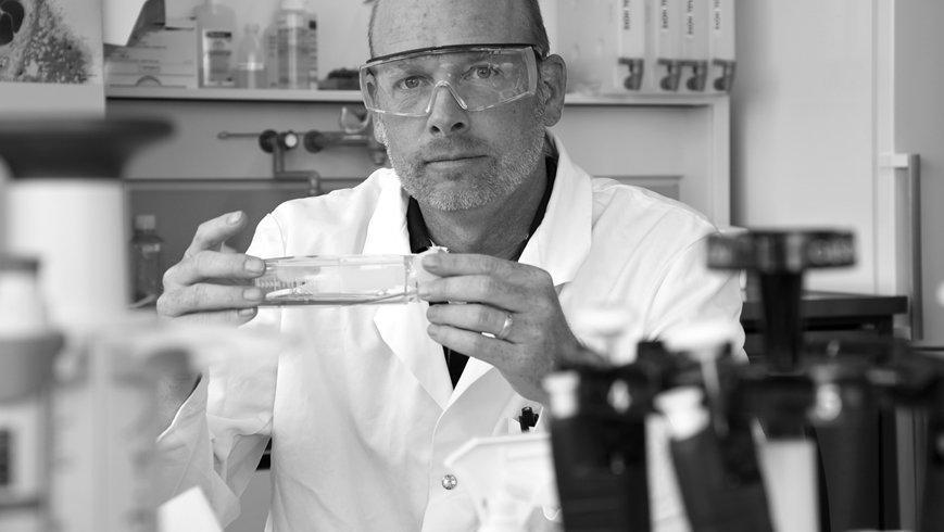 Peter Wick. Über Antikörperstudien und wie Textilmaterial, die Coronaviren inaktivieren oder gar abtöten können.